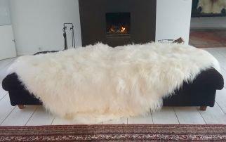 Patchwork IJslands Schapenvacht Tapijt  160x200 cm     395,00